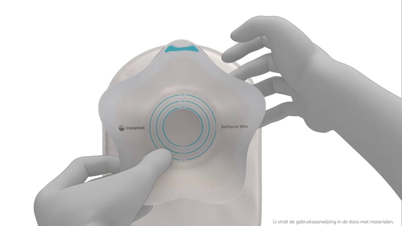 SenSura Mio Convex Flip 1-delig open